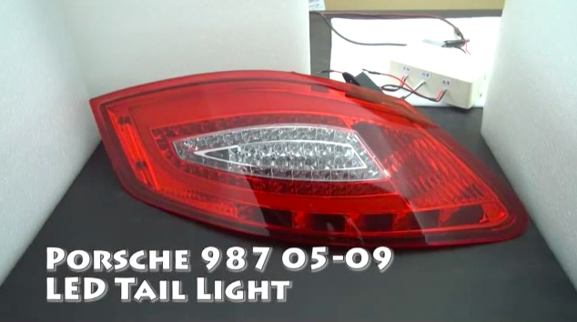Feux Arri 232 Re Led 987 Look 981 Signalisation Boxster