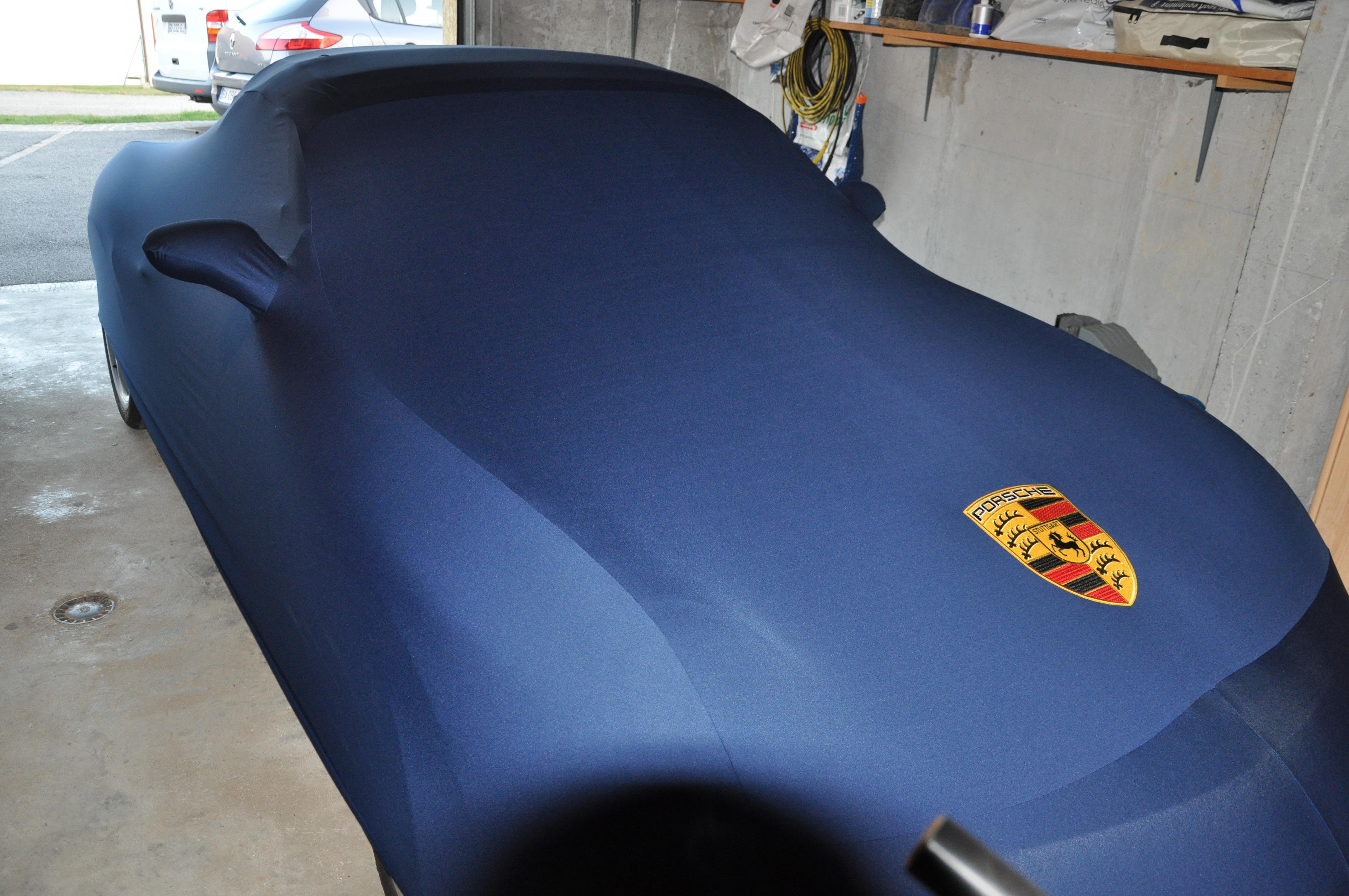Housses dustcover accessoires boxster cayman 911 porsche for Housse porsche 997