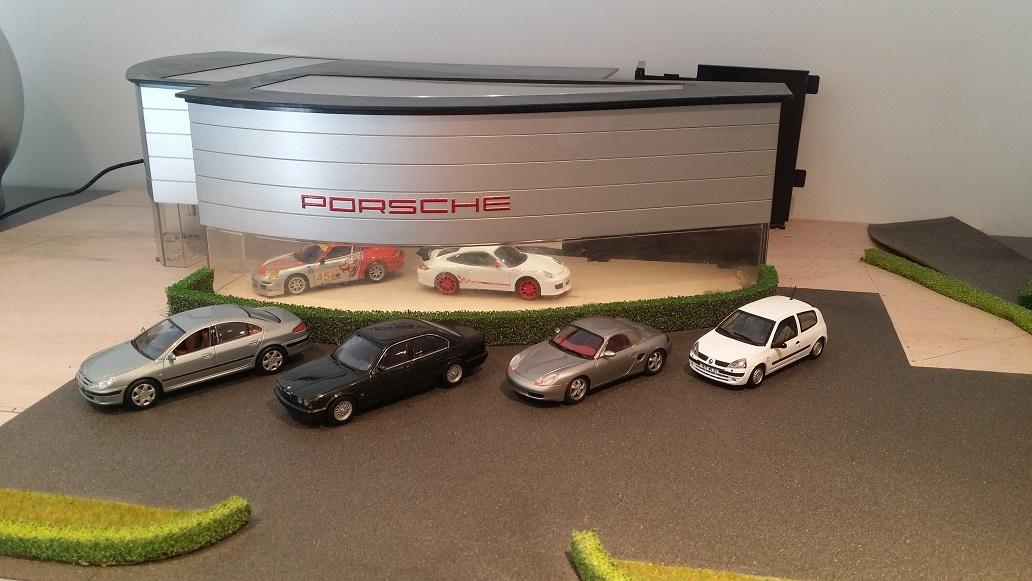 Ma Concession Porsche Modele Reduit Maquette Objet De