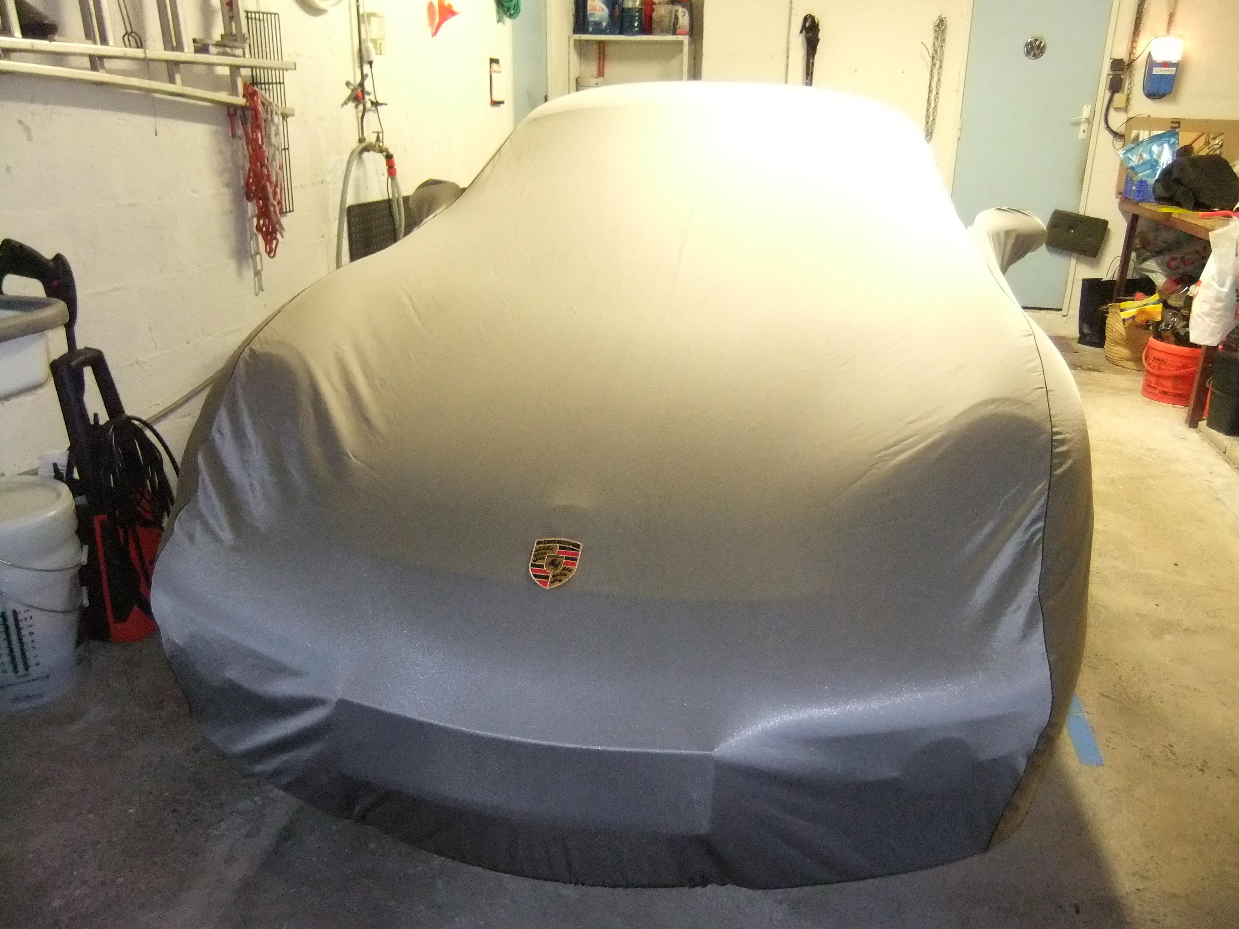 Housse couverture garage page 4 photos boxster for Housse porsche 911
