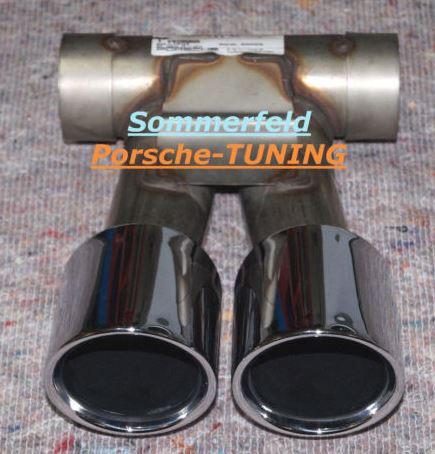 double sorties sur cayman 981 echappement boxster cayman 911 porsche. Black Bedroom Furniture Sets. Home Design Ideas