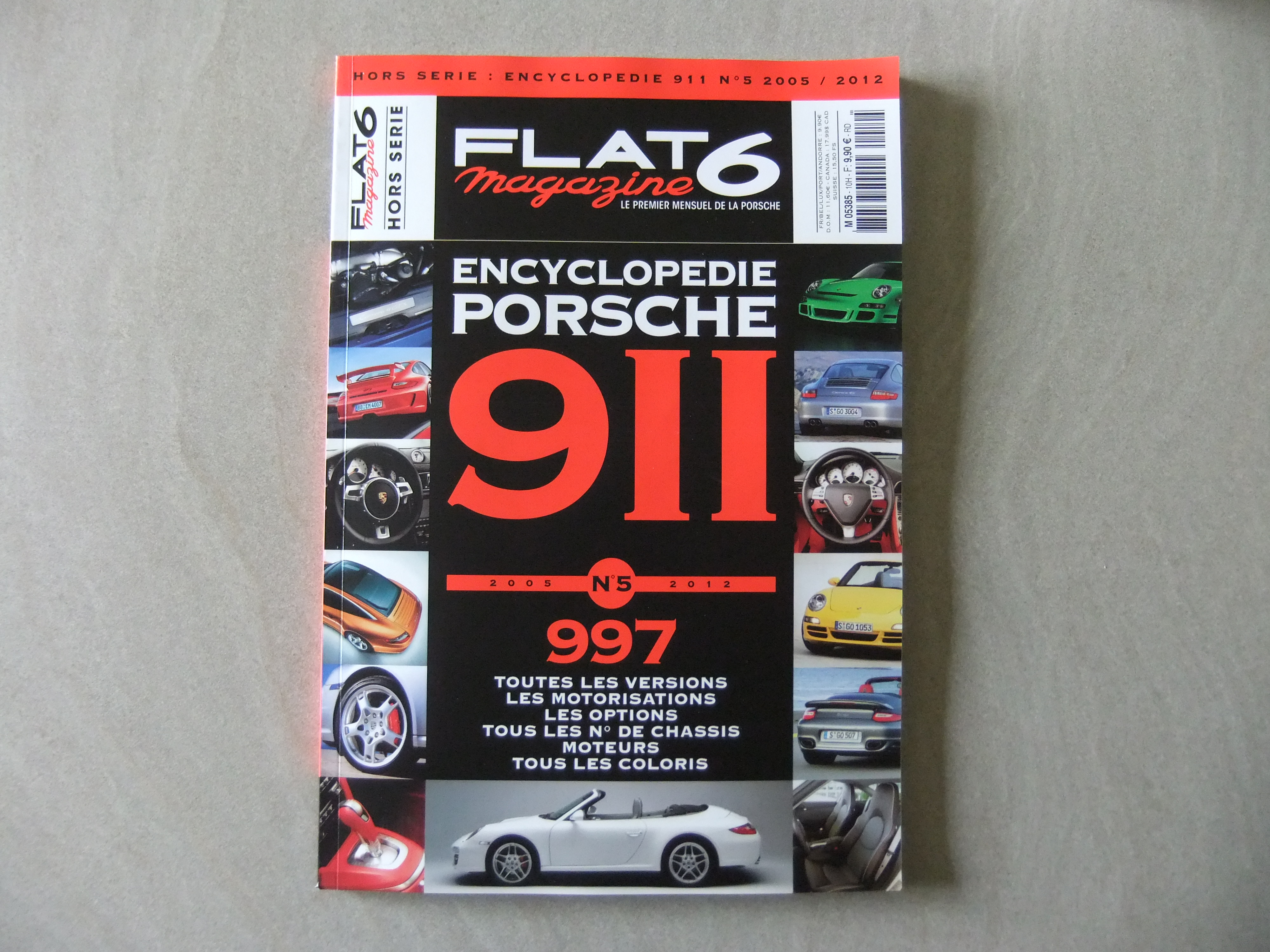 Hors Serie Encyclopedie Porsche 911 N 5 Speciale 997 Revue De